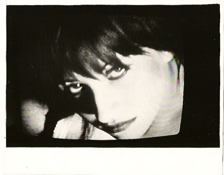 Black and white portrait of Lydia Lunch. LYDIA LUNCH, RICHARD KERN.