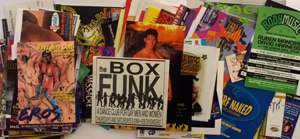 A Collection of Club Flyers