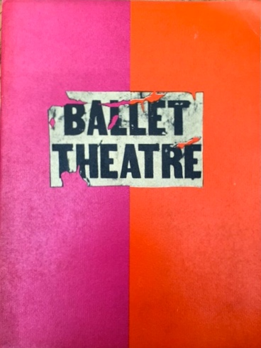 GAYLE YOUNG'S PERSONAL COLLECTION OF THEATRE/BALLET EPHEMERA