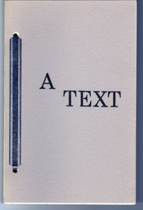 A TEXT: for those how ever here. J. D. Whitney