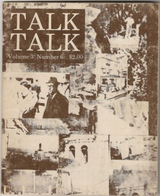 TALK TALK Volume 3, Number 6. William BURROUGHS