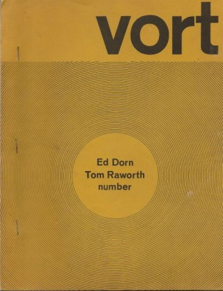 VORT #1. Barry ALPERT, Ed DORN, Tom Raworth