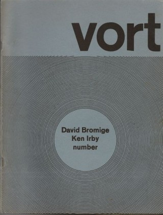 VORT #3. Barry ALPERT, David BROMIGE, Ken Irby