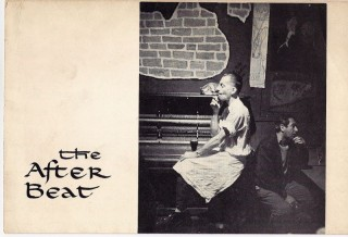 Announcement card for] THE AFTER BEAT. Photographs by Mark Green (with typed letter describing...