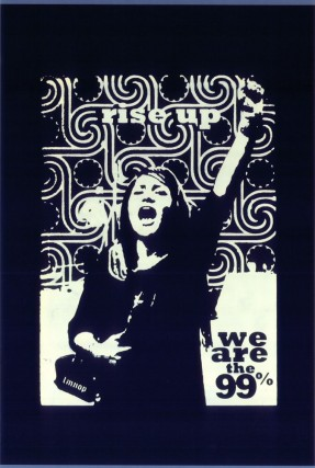RISE UP! WE ARE THE 99%. LMNOPi, artist