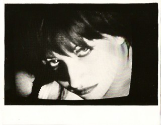 Black and white portrait of Lydia Lunch. LYDIA LUNCH, RICHARD KERN