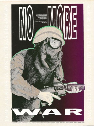 NO MORE WAR [poster]. ANTI-DESERT STORM.