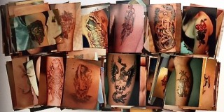 VERNACULAR ART] TATTOO ARCHIVE