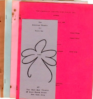 A Small Collection of ephemera: THE AMERICAN THEATRE FOR POETS, Inc